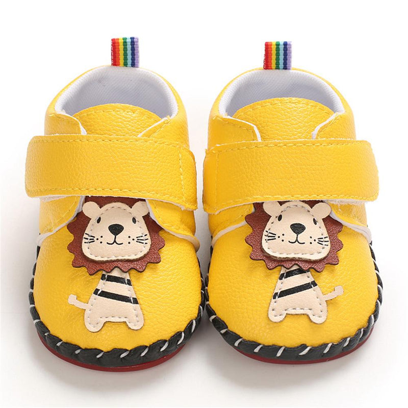 Baby Boys Cartoon Magic Tape Flats Wholesale Baby Shoes Suppliers - PrettyKid
