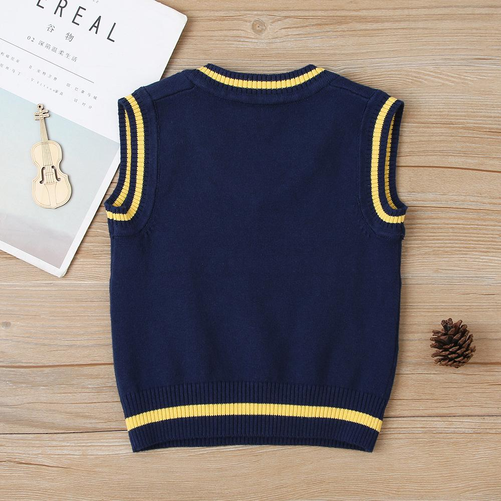 Baby Boys Casual Sweater Vest Wholesale Baby Clothes Online