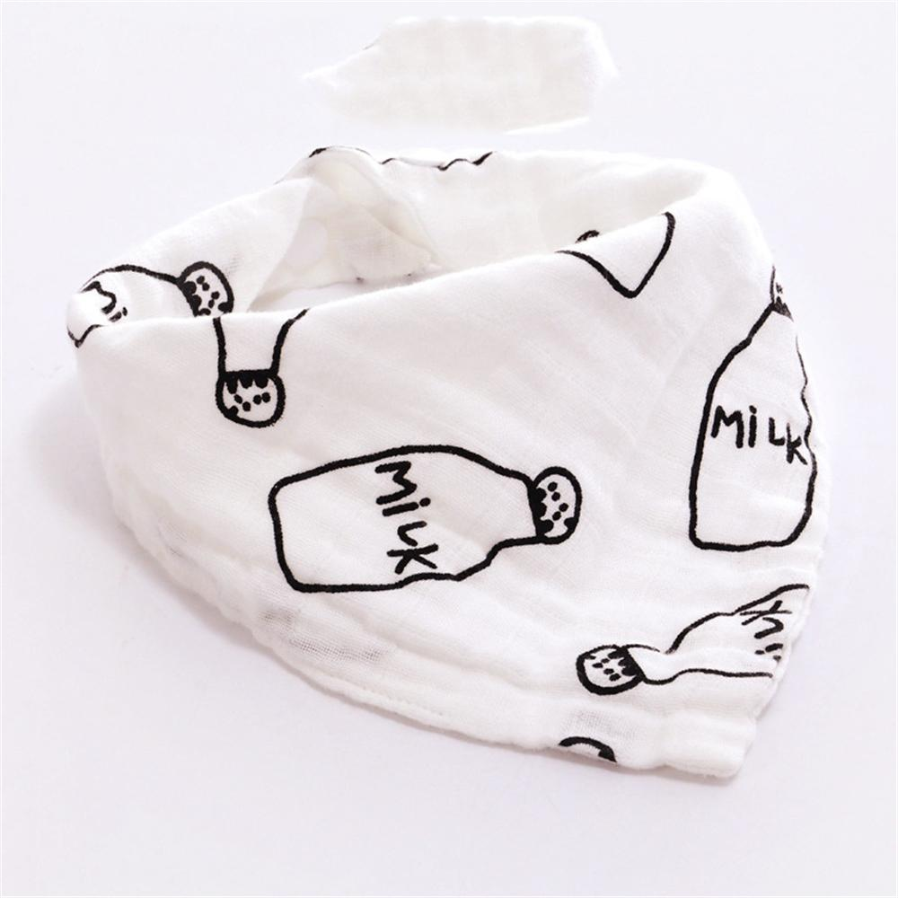 Baby Cotton Cartoon Soft Bibs Baby Accessories Wholesale