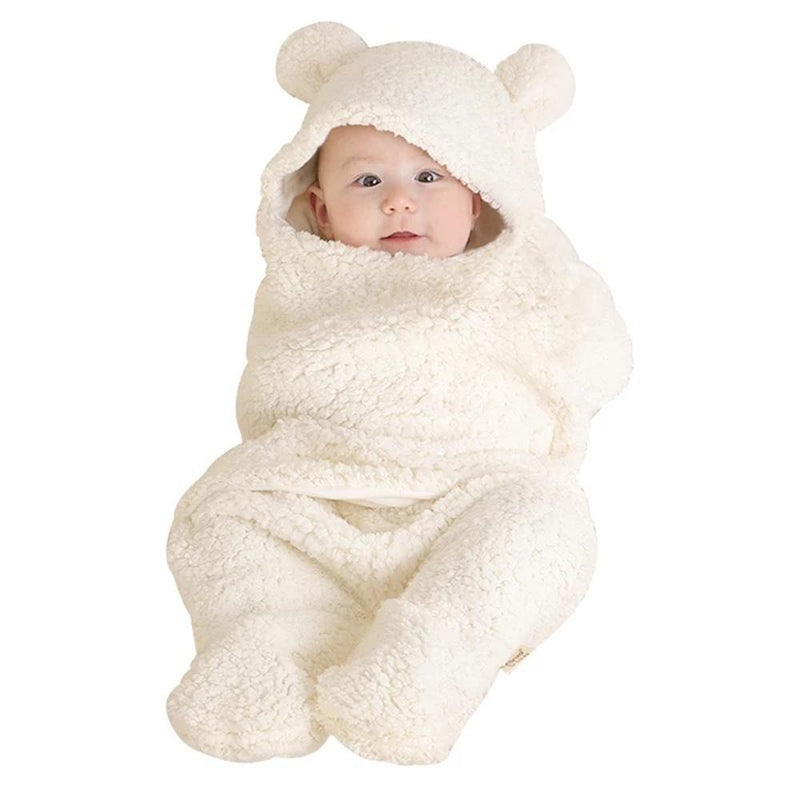 Baby Cute Plush Sleeping Bag Split-leg Wholesale Baby Blankets