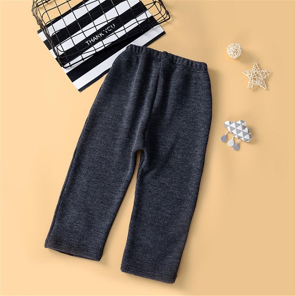 Toddler Girls Knitted Button Loose Pants Wholesale Girls Leggings
