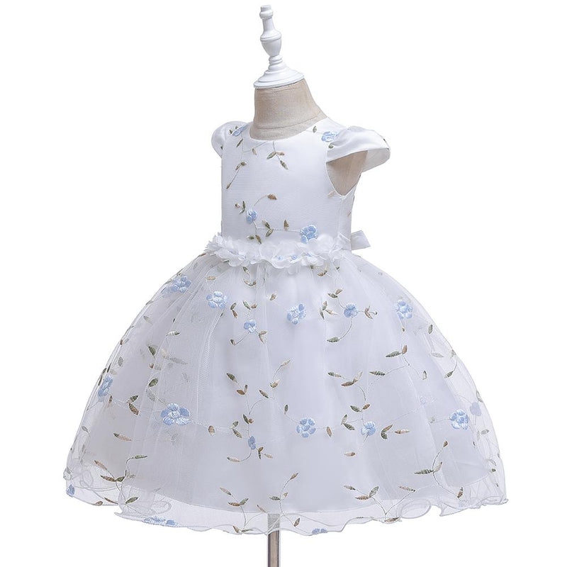 Beautiful Floral Tutu Princess Dress - PrettyKid