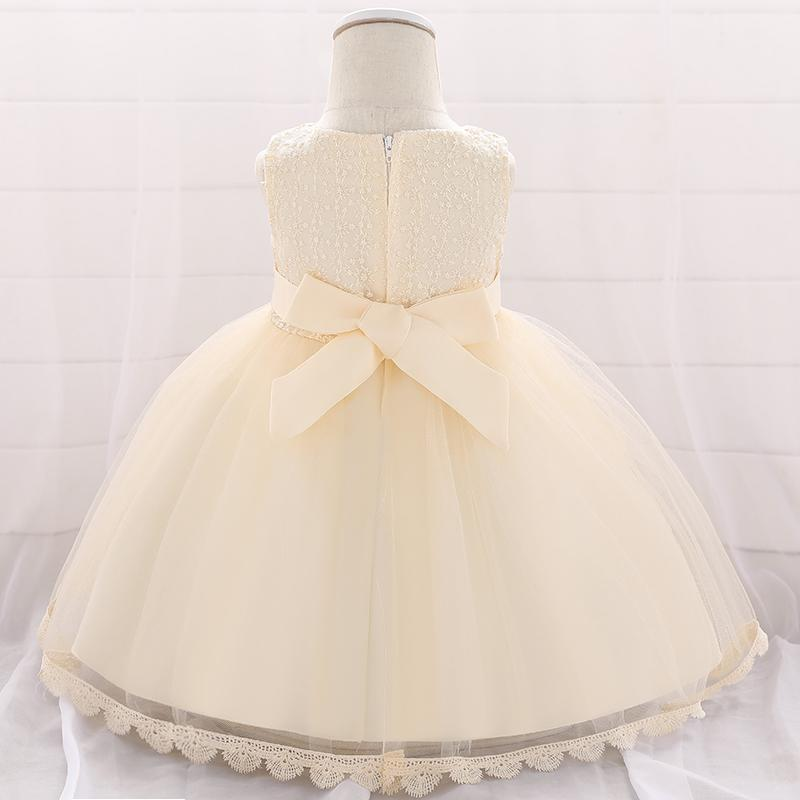 Baby Girl Sequined Flower Dress Princess Tutu Flower Girl Dress