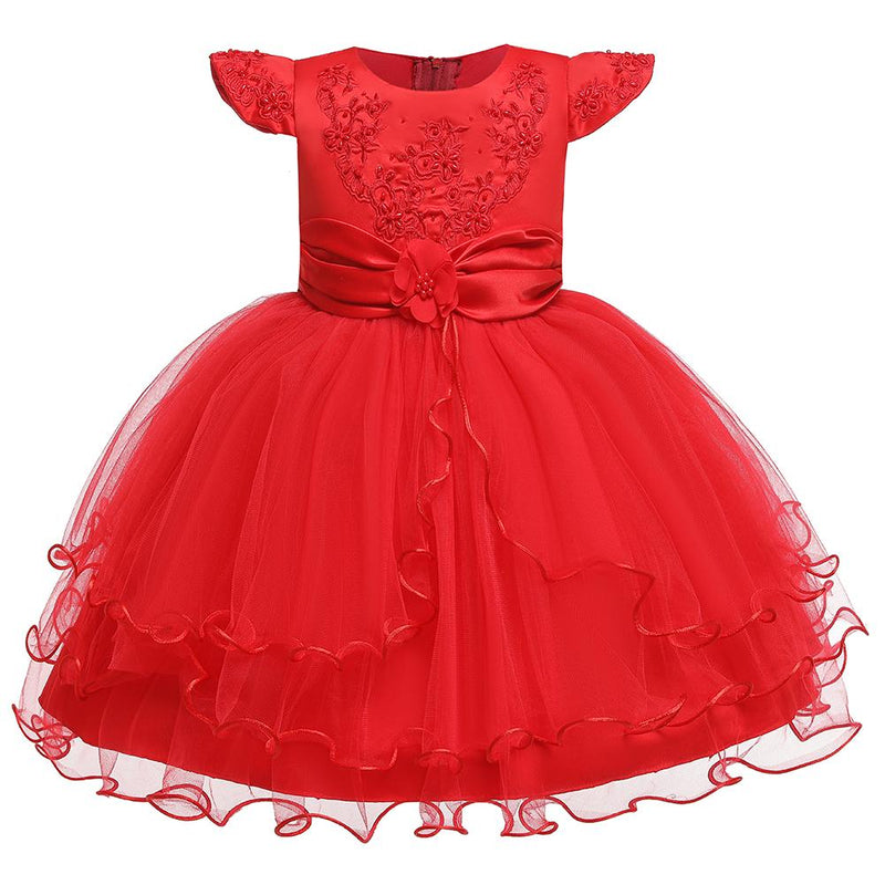 Princess Dress Flower Girl Dress Catwalk Piano Performance Clothes