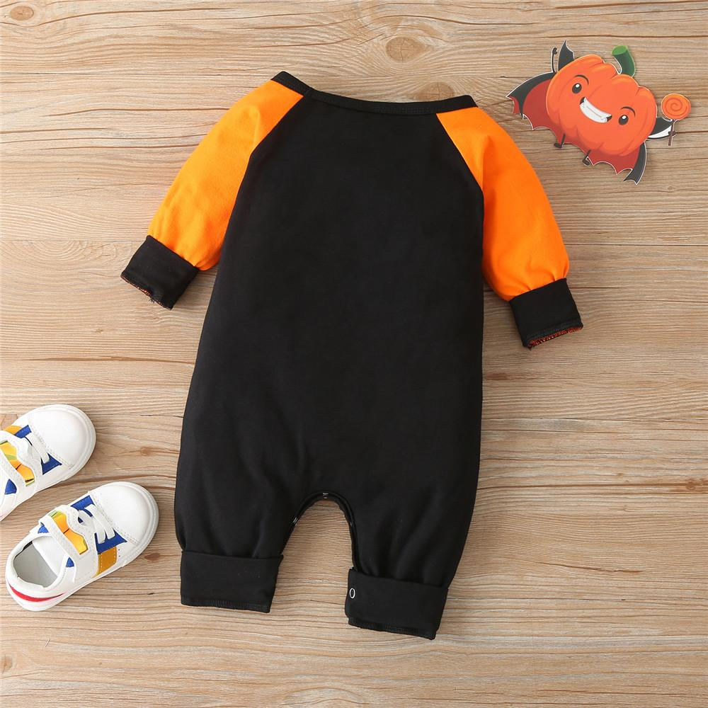 Baby Unisex Long Sleeve Halloween Romper Buy Baby Clothes Wholesale - PrettyKid