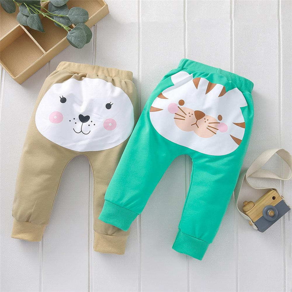 Baby Lovely Animal Cartoon Printed Pants urban boy clothes wholesale - PrettyKid