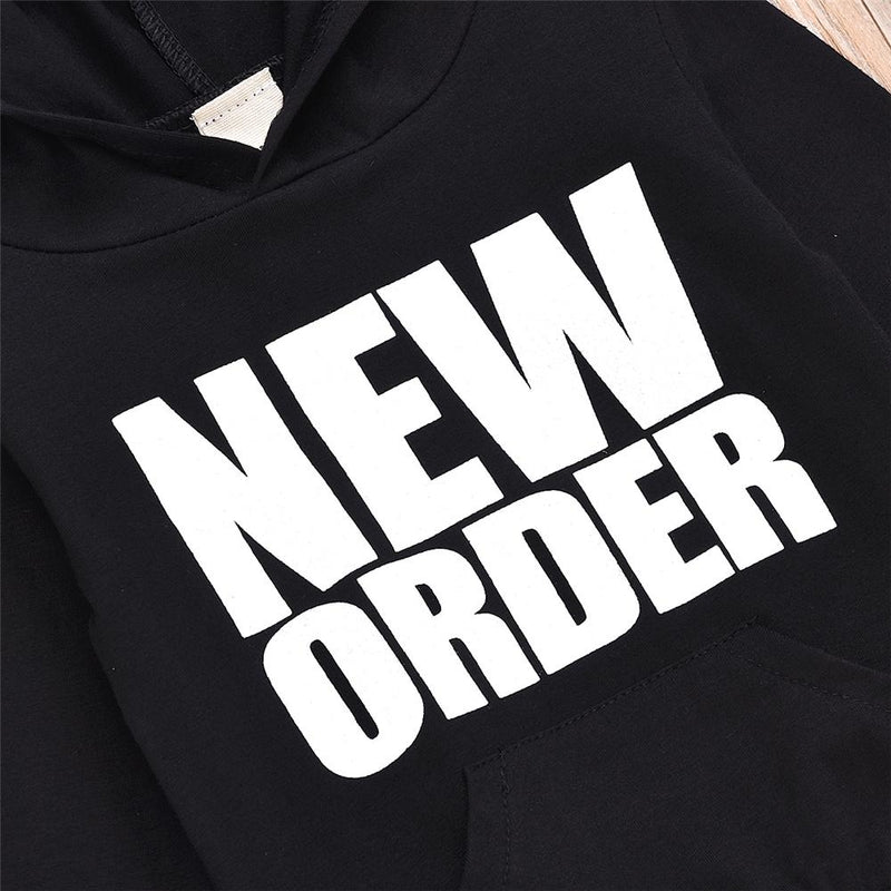 Boys Now Order Hoodie Long Sleeve Top Wholesale Boys Clothing - PrettyKid