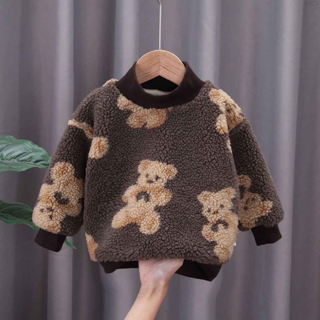 Baby Boy New Winter Clothes Cute Sweater Children Clothing Wholesale Sweater spanish