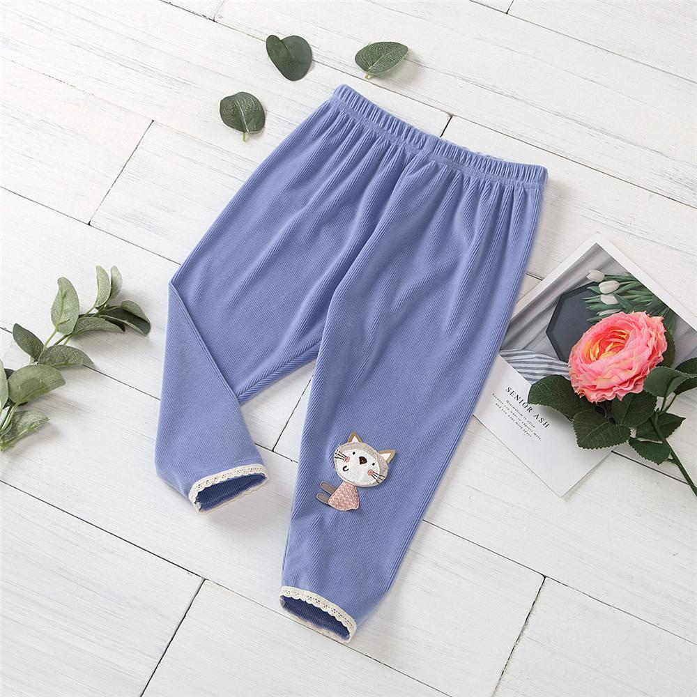 Baby Girls Pattern Animal Elastic Waist Pants Baby Clothes Wholesale Bulk