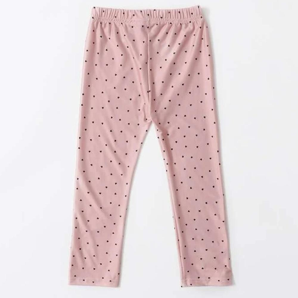 Toddler Girls Polka Dot Elastic Waist Pants Girls Leggings Wholesale