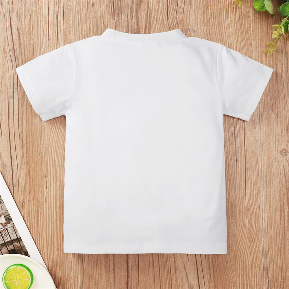 Girls Promoted To Big Sister Printed Short Sleeve T-Shirts Girl Boutique Clothing Wholesale