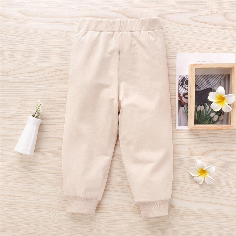 Girls Ruffled Solid Stylish Trousers Baby Girl Boutique Clothing Wholesale