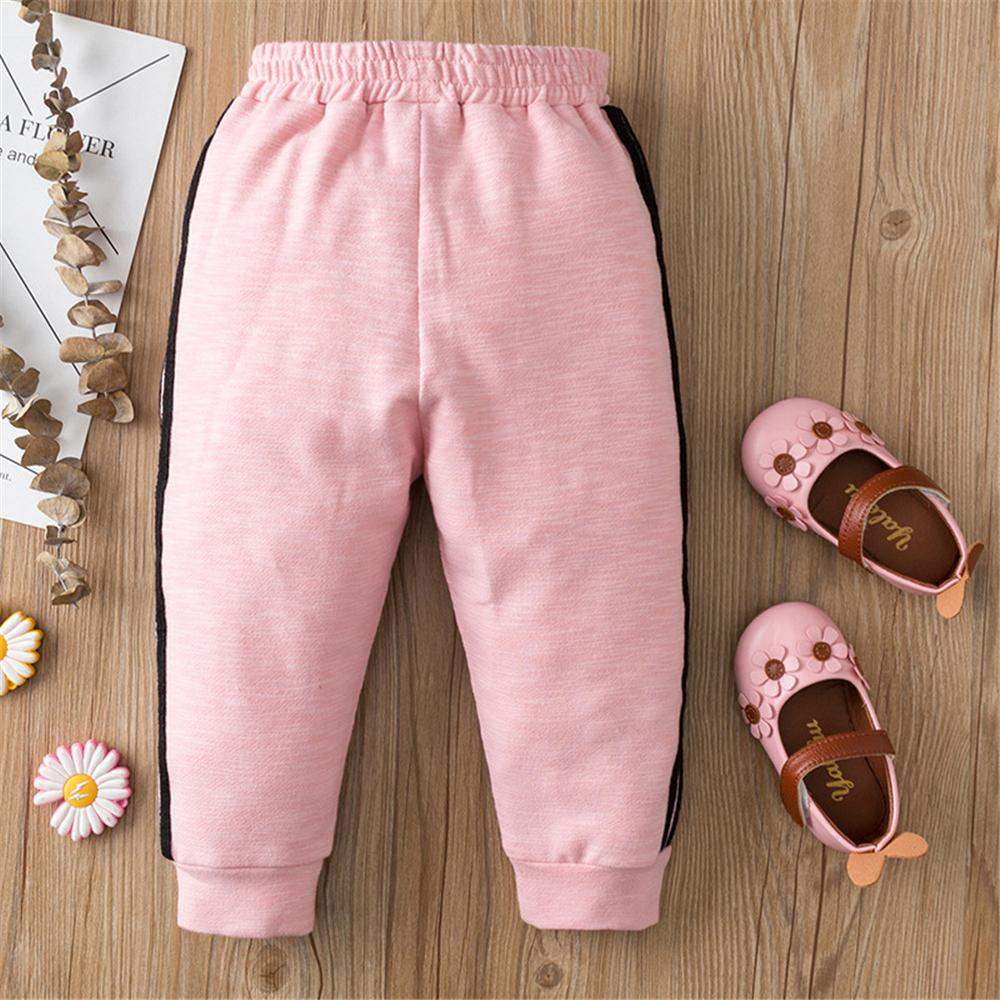 Baby Girls Solid Color Casual Trousers Wholesale Clothing Baby