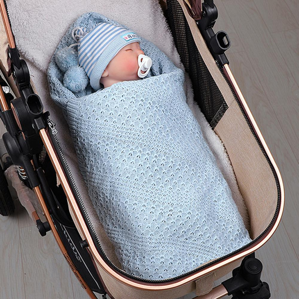 Baby Solid Hollow Out Breathable Wholesale Cute Baby Blankets