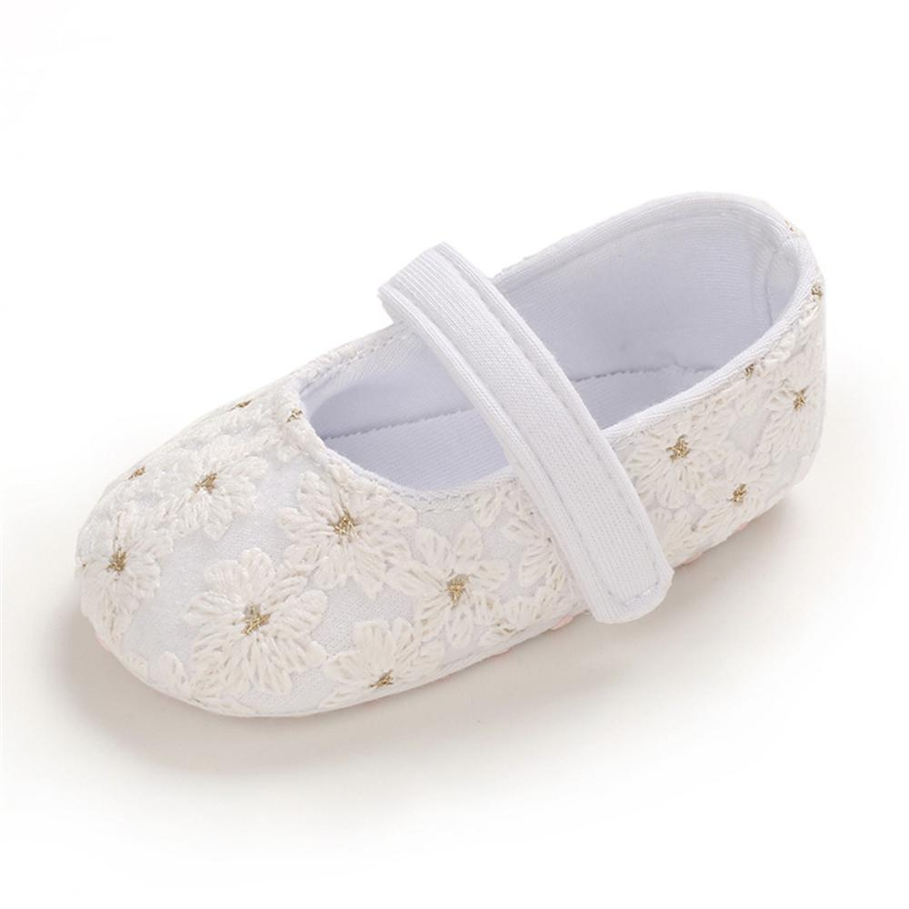 Baby Girls Solid Magic Tape Casual Girls Shoes Wholesale
