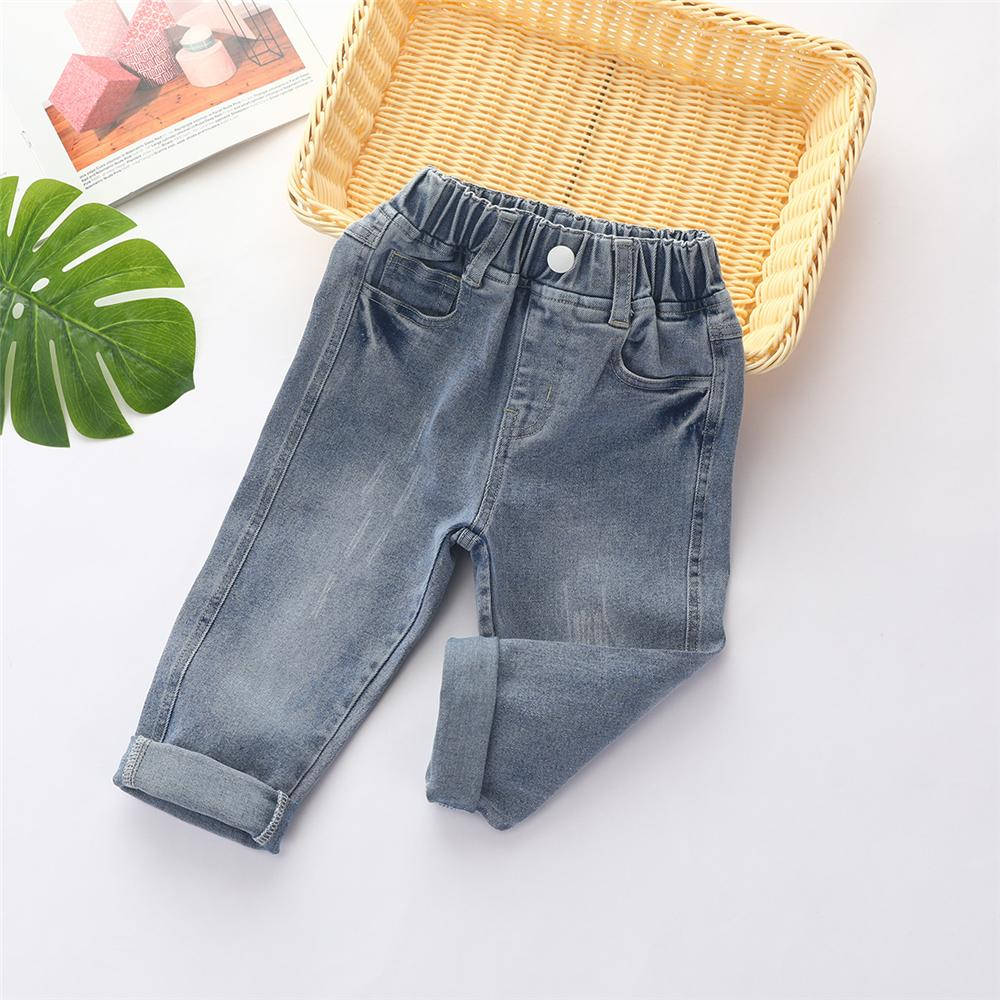 Boys Stylish Pocket Daily Jeans Wholesale