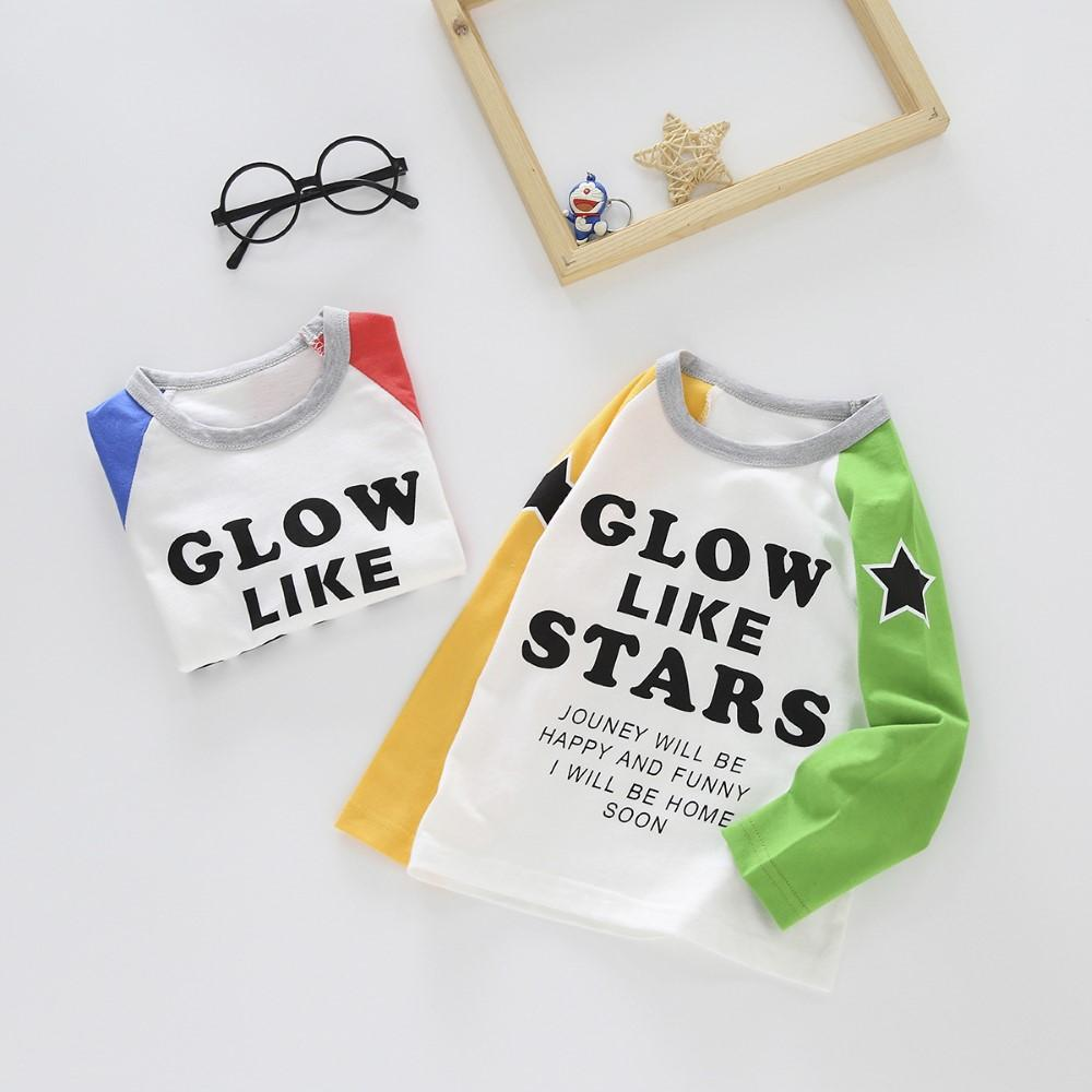 Toddler Boys Letter Printed Top Boy Clothing Wholesale