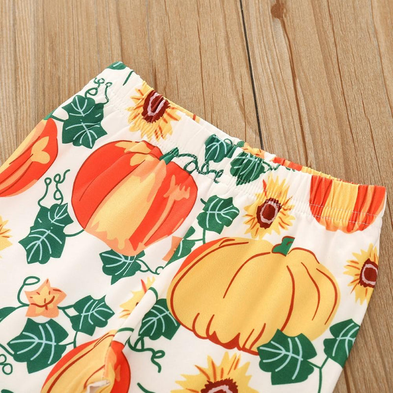 Toddler Girls Halloween Dress & Pants & Headband Wholesale Girl Clothing