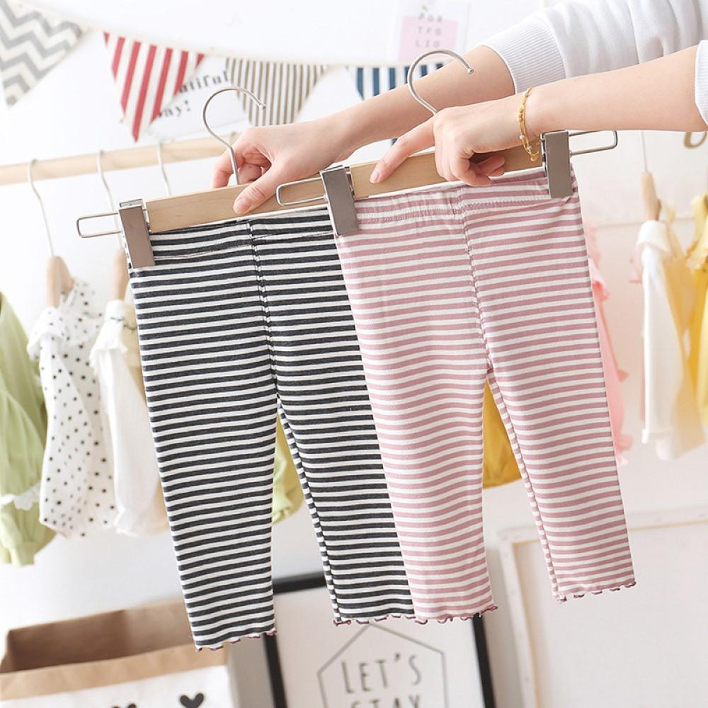 Toddler Girls Striped Leggings Little Girl Leggings Wholesale