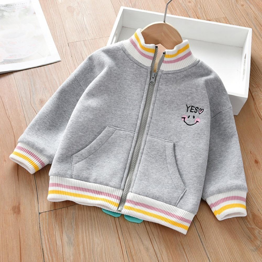 Unisex Kid Dinosaur Pattern Zipper Long Sleeves Boys Boutique Clothing Wholesale