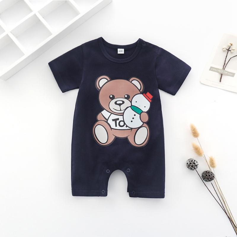 Bear Pattern Jumpsuit for Baby Children's clothing wholesale - PrettyKid