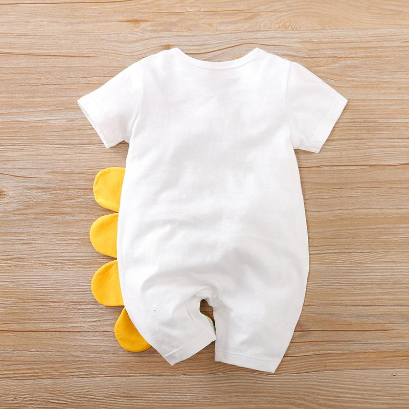 Animal Crocodile Pattern Bodysuit for Baby Boy Wholesale children's clothing - PrettyKid