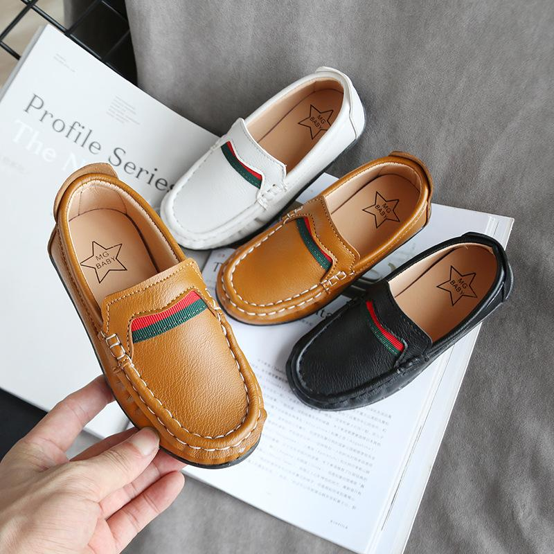 Leather Shoes for Children Boy