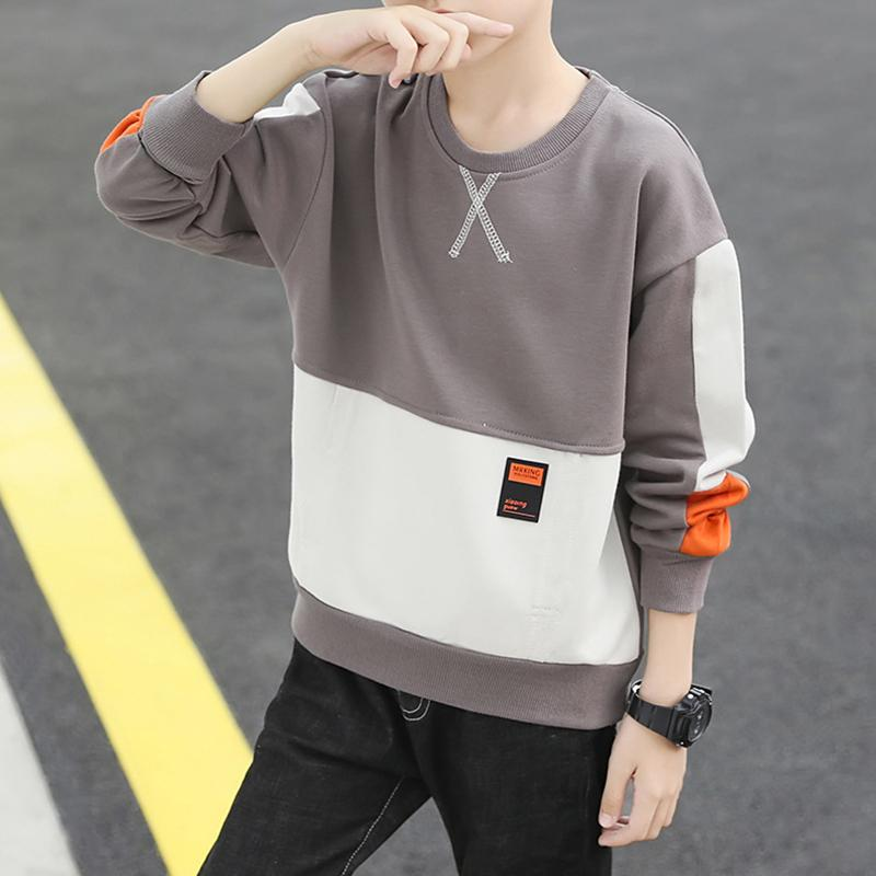 Color-block Sweatshirt for Boy Wholesale children's clothing