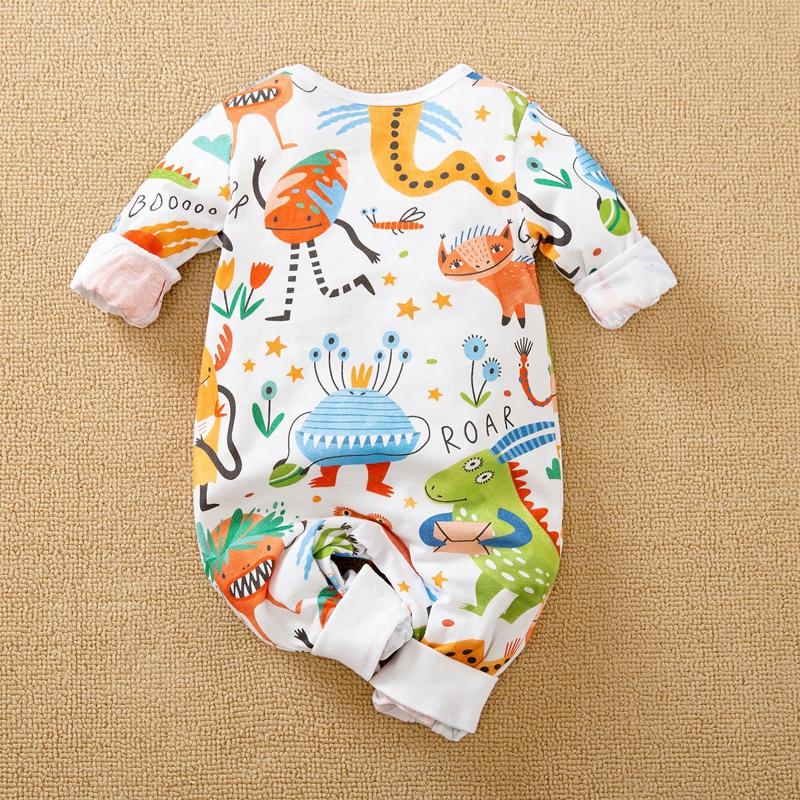 Dinosaur Pattern Jumpsuit for Baby Boy Wholesale children's clothing