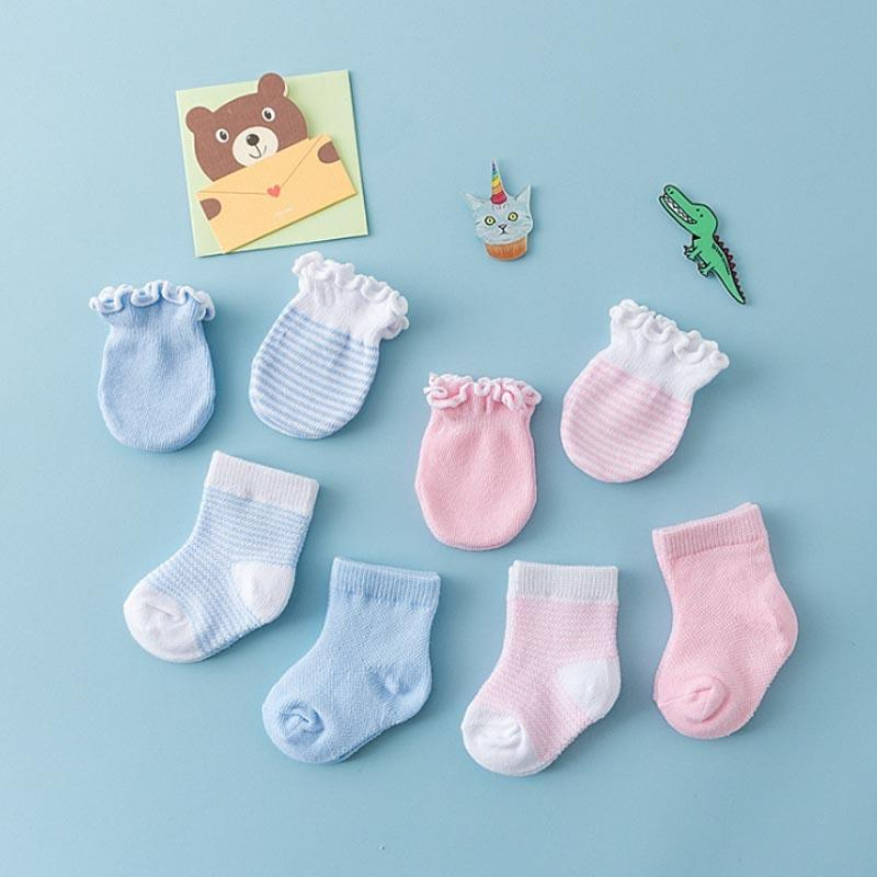 2-piece Sweet Simple Baby Socks - PrettyKid