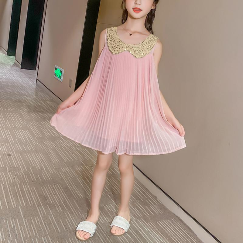 Chiffon Dress for Girl Wholesale Children's Clothing