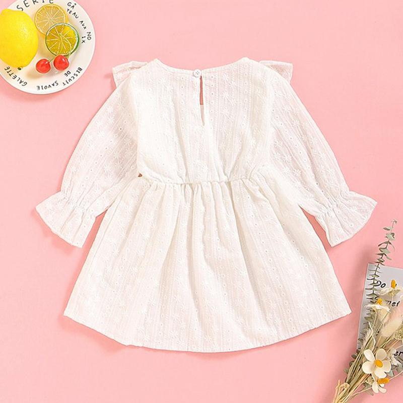 Solid Ruffle Skirt for Baby Girl