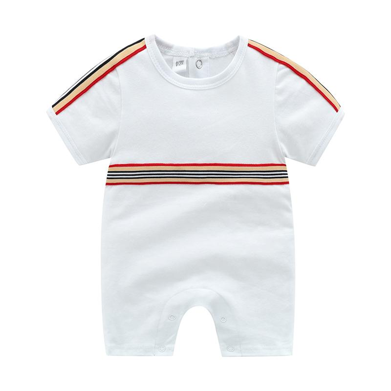 Short Sleeve Striped Bodysuit for Baby Wholesale children's clothing