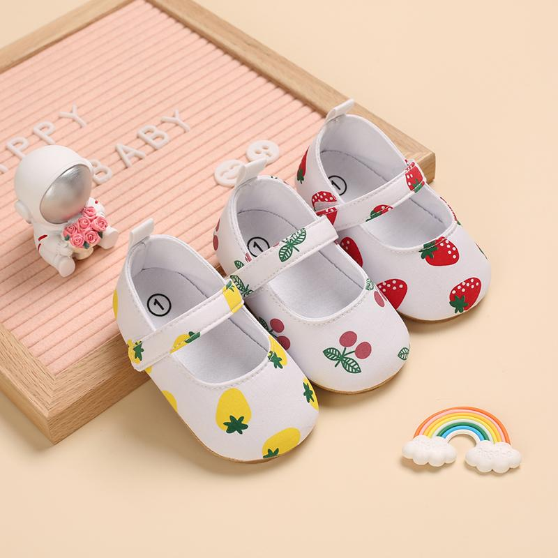 Fruit Pattern Baby Shoes - PrettyKid