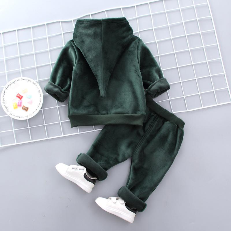2-piece Fleece Hoodie & Pants for Toddler Boy Wholesale children's clothing