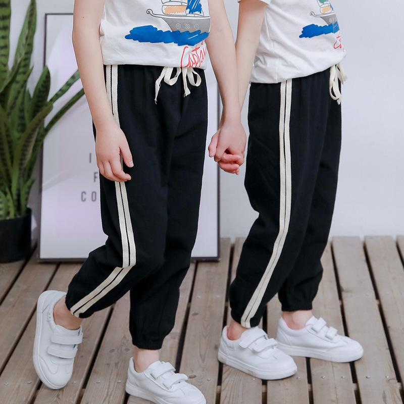 Stripes Casual Pants for Boy Wholesale children's clothing