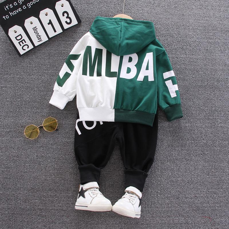 2-piece Letter Pattern Hoodie & Pants for Toddler Boy Wholesale children's clothing