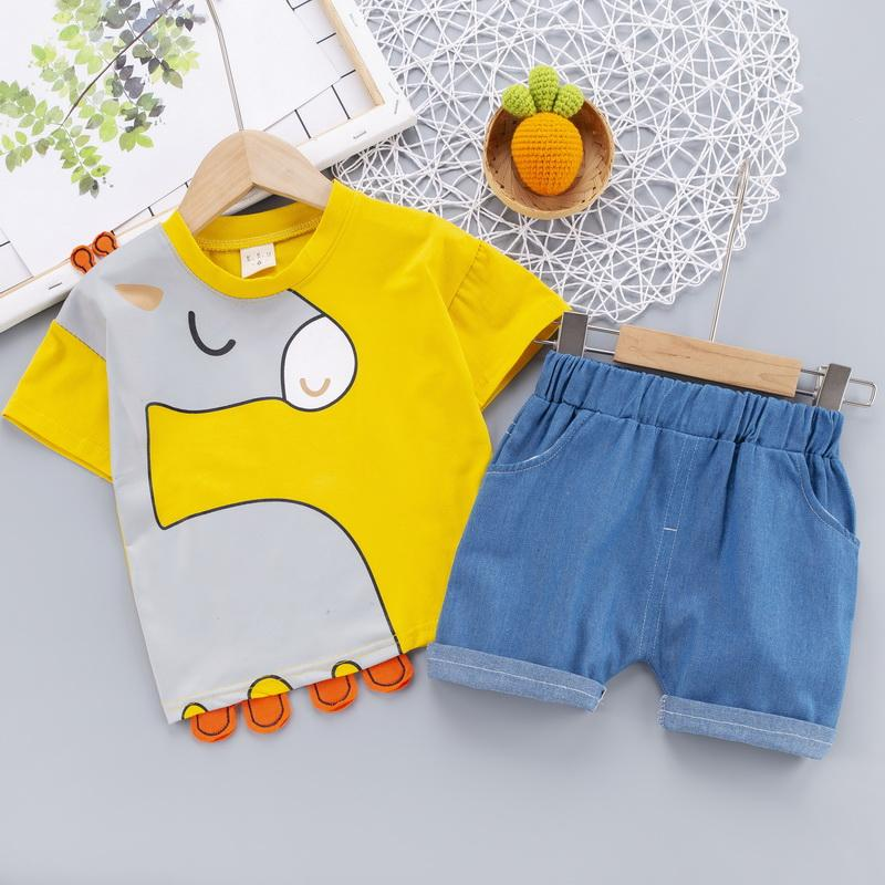 2-piece T-shirt & Shorts for Children Boy - PrettyKid