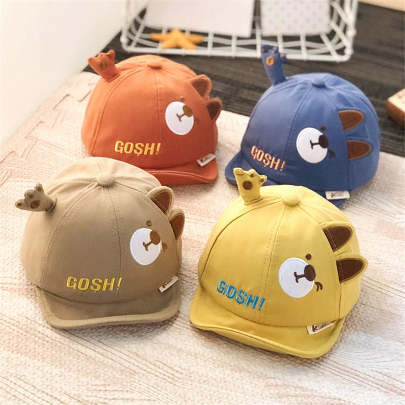 Bear Pattern Duckbill cap for Baby Wholesale Children's Clothing