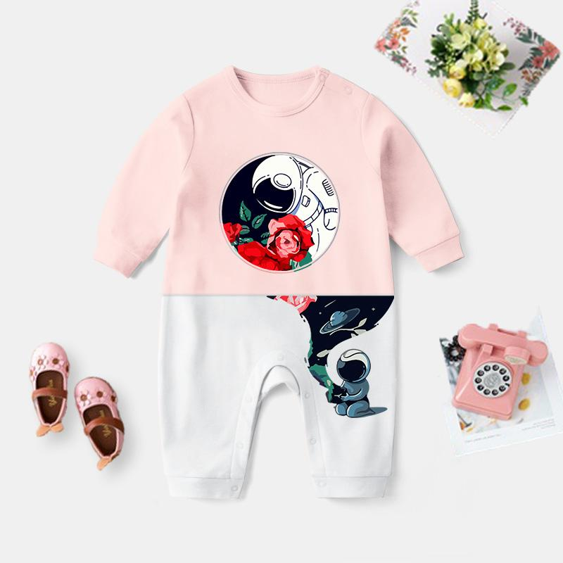 Astronaut Pattern Jumpsuit for Baby Wholesale children's clothing