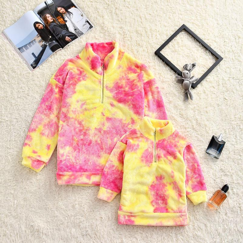 Fleece Hoodie for Mother & Baby Wholesale children's clothing
