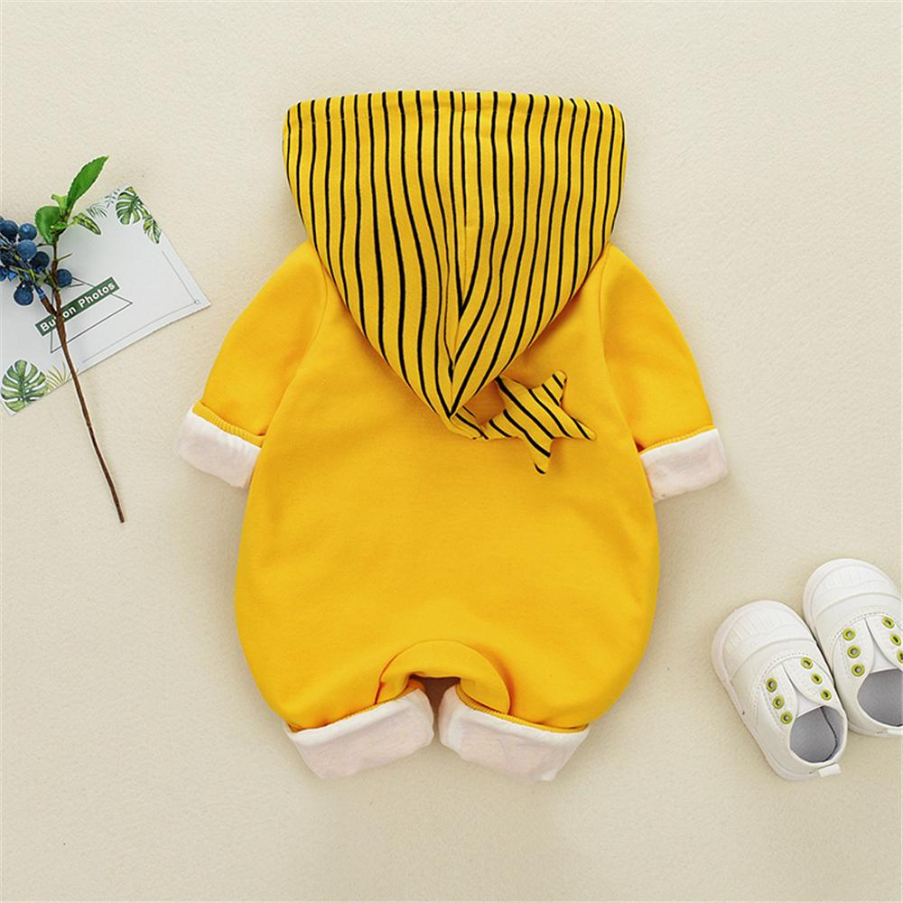 3D Design Star Hooded Jumpsuit for Baby Wholesale children's clothing