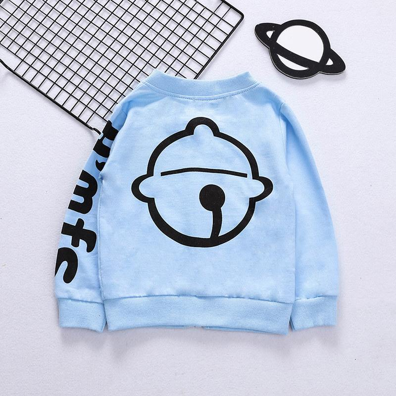 Bell Pattern Jacket for Toddler Boy Wholesale children's clothing