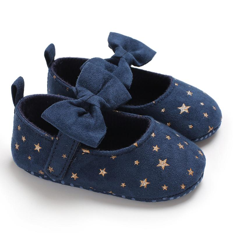 Velcro Bowknot Baby Shoes