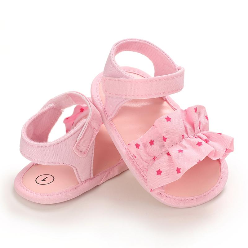 Velcro Ruffle Baby Shoes