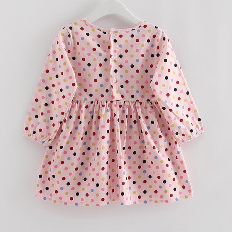 Polka Dot Dress for Girl Wholesale children's clothing