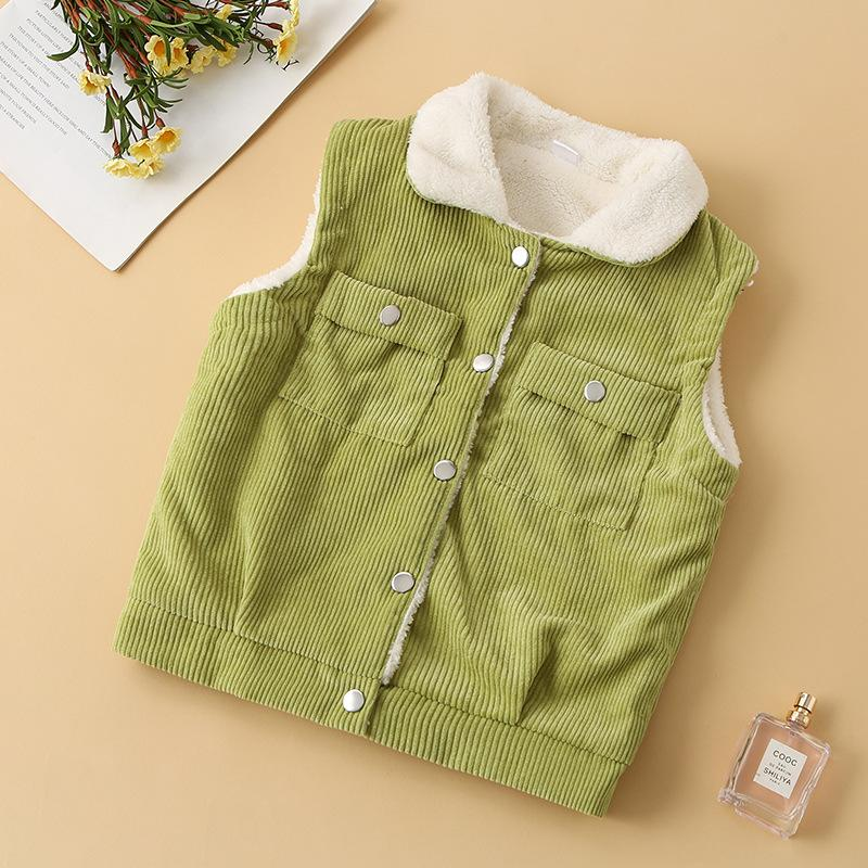 Extra Thick Gilet for Toddler Boy Wholesale children's clothing