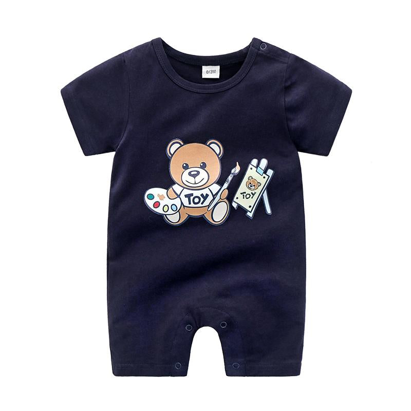 Bear Pattern Jumpsuit for Baby - PrettyKid