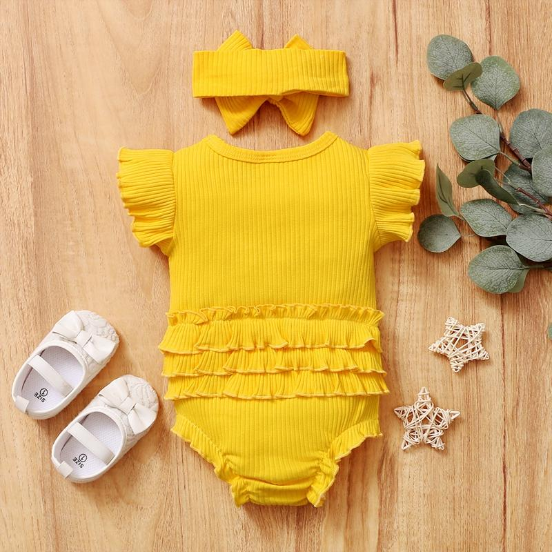2-piece Headband & Romper for Baby Girl - PrettyKid