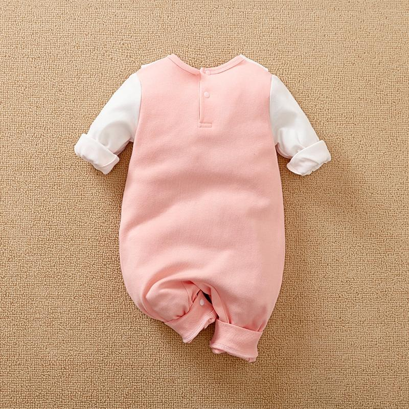 Swan Pattern Jumpsuit for Baby Girl Wholesale children's clothing